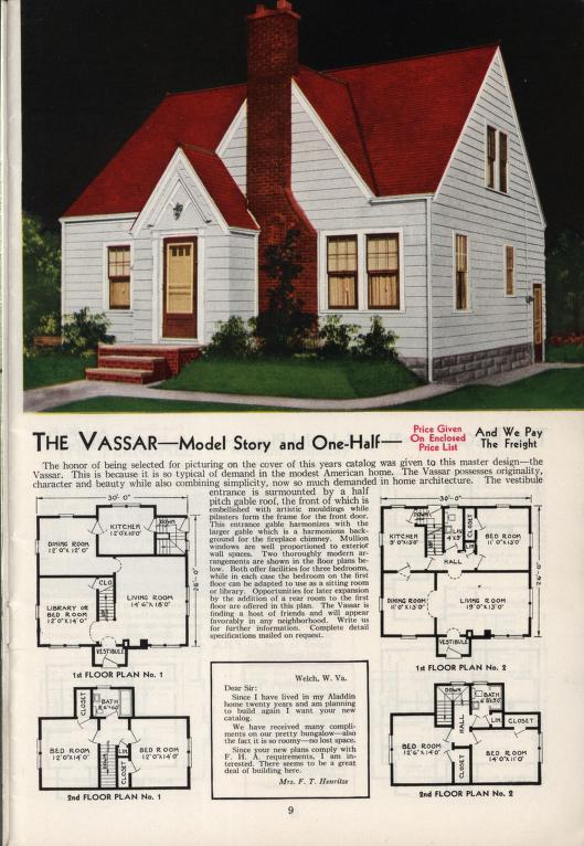 aladdin homes vassar